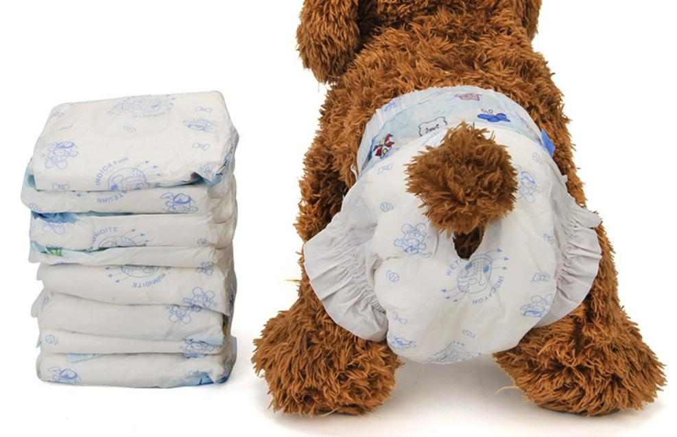 Disposable Dog Diaper 10pcs (XXS) 14-28cm