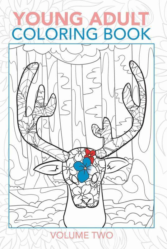 Young Adult Coloring Book Volume Two