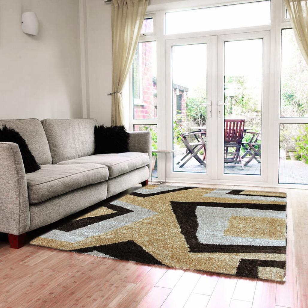 Carpetier concepts freyr shag rug 160 x 230 cm carpet contemporary living bedroom soft