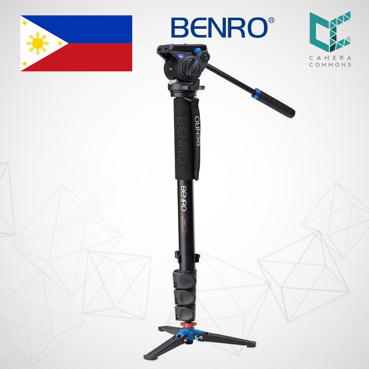 Benro Philippines Price List Camera Bag Tripod Mount A1883fs2c Aero 2 Video Travel Angel A48fds4 Series 4 Aluminum Monopod Flip Lock