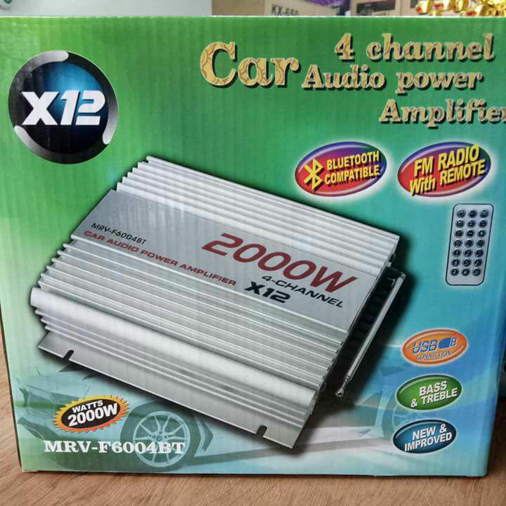 Car Amplifier for sale - Car Audio Amplifier online brands, prices ...