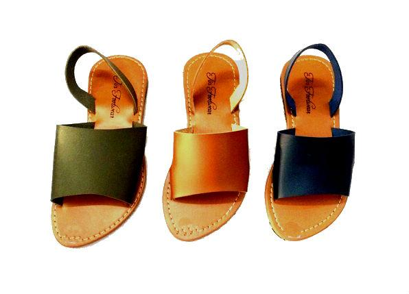 383000c074b15 Philippines. Marikina Made Flats Sandals Dual Straps with Ankle Strap Open  Toe Sandals