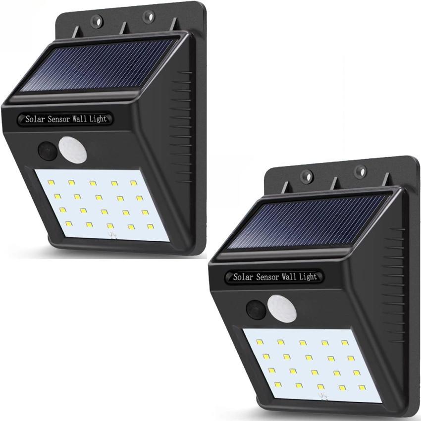Buy 1 Take 1 Sensor Wall Light 20 Led Outdoor Waterproof Rechargeable Solar Power Pir Motion Garden Lamp By Lst Dry Goods.