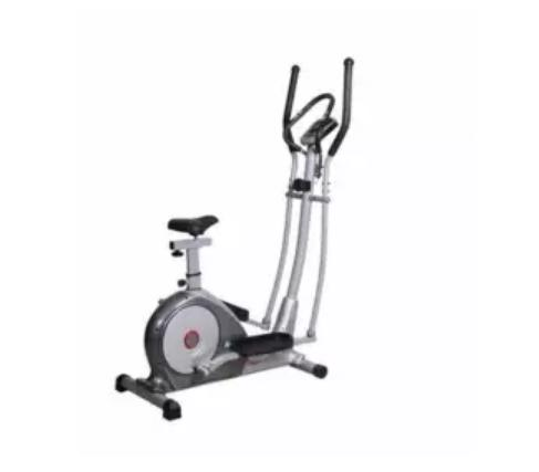 Muscle Power 6.3ah Magnetic Manual Elliptical Bike (grey) By Sonix Sports And Music Store.