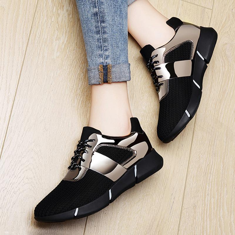 0cdab3a841a3 2018 Autumn New Style Korean Style Harajuku Athletic Shoes women Shoes  Spring And Autumn Versatile Flat