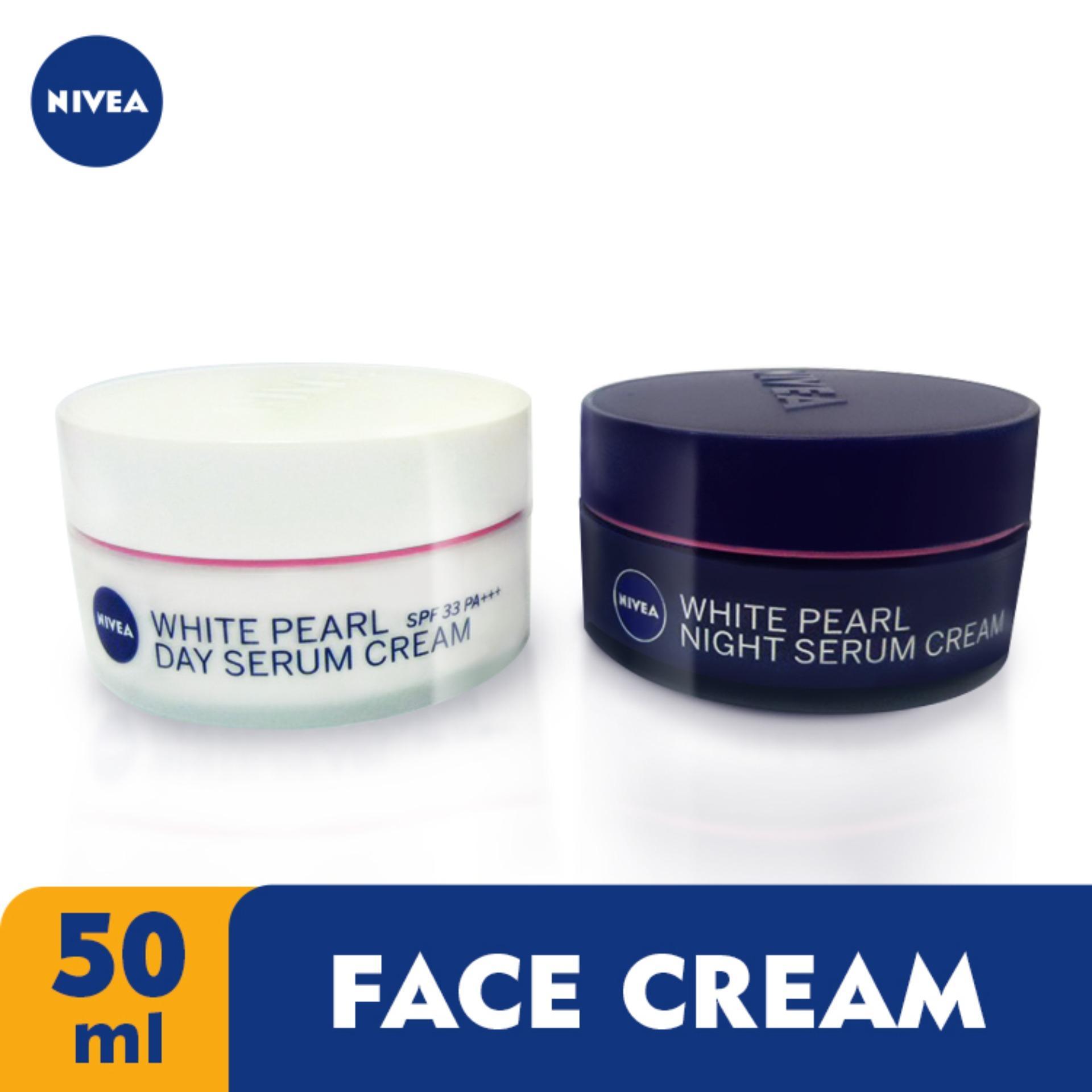 מדהים NIVEA Face Day and Night Pearl Serum Cream 50ml | Lazada PH UF-16
