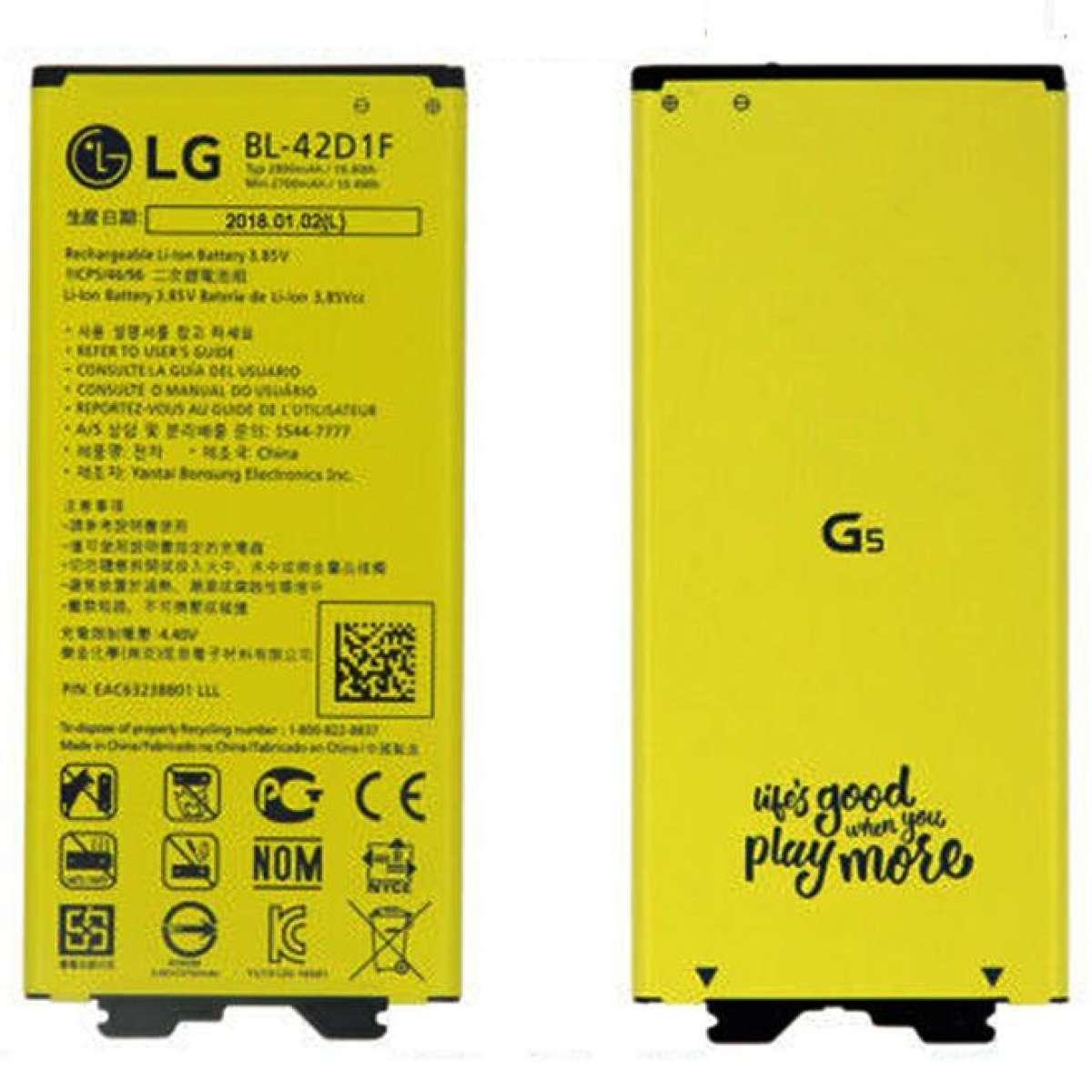 LG MOBILE BATTERY BL-42D1F G5