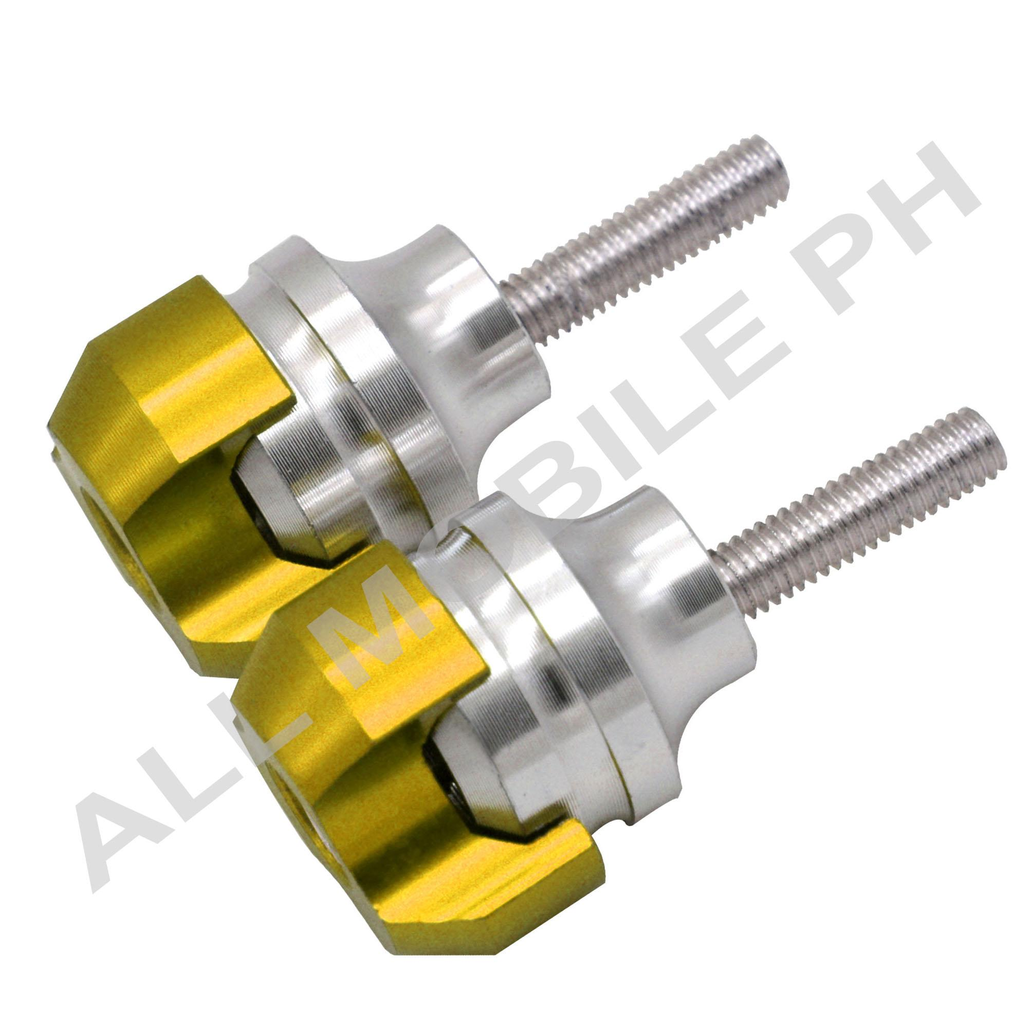 Msm 6484 Bar End Alloy , Absorb Shock When Motor When Falls (yellow) By All Mobile Ph.