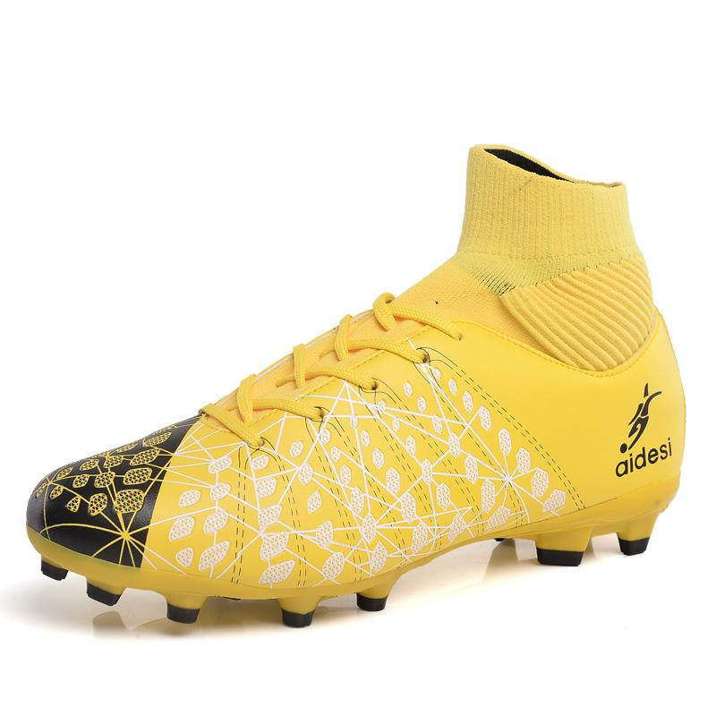 0c2f8473a39e Kid s Classic Football Shoes Medium Upper Boys and Girls Sports Training  Shoes High Quality Soccer Shoes