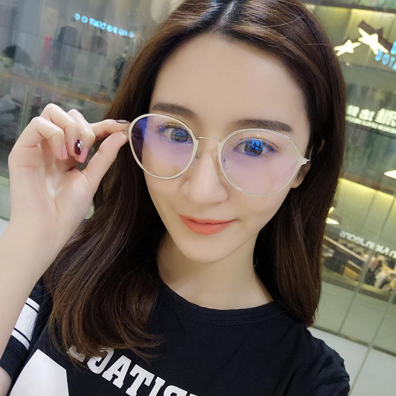 84aa4066afe Optical Glasses women Korean Style Fashion Vintage Literature And Art  Glasses Frame round Face Ultra-