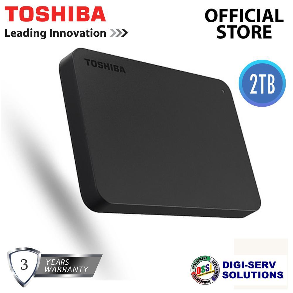 478448bbe87 Toshiba Canvio Basics (new) 2TB USB 3.0 Portable External Hard Drive (Black)
