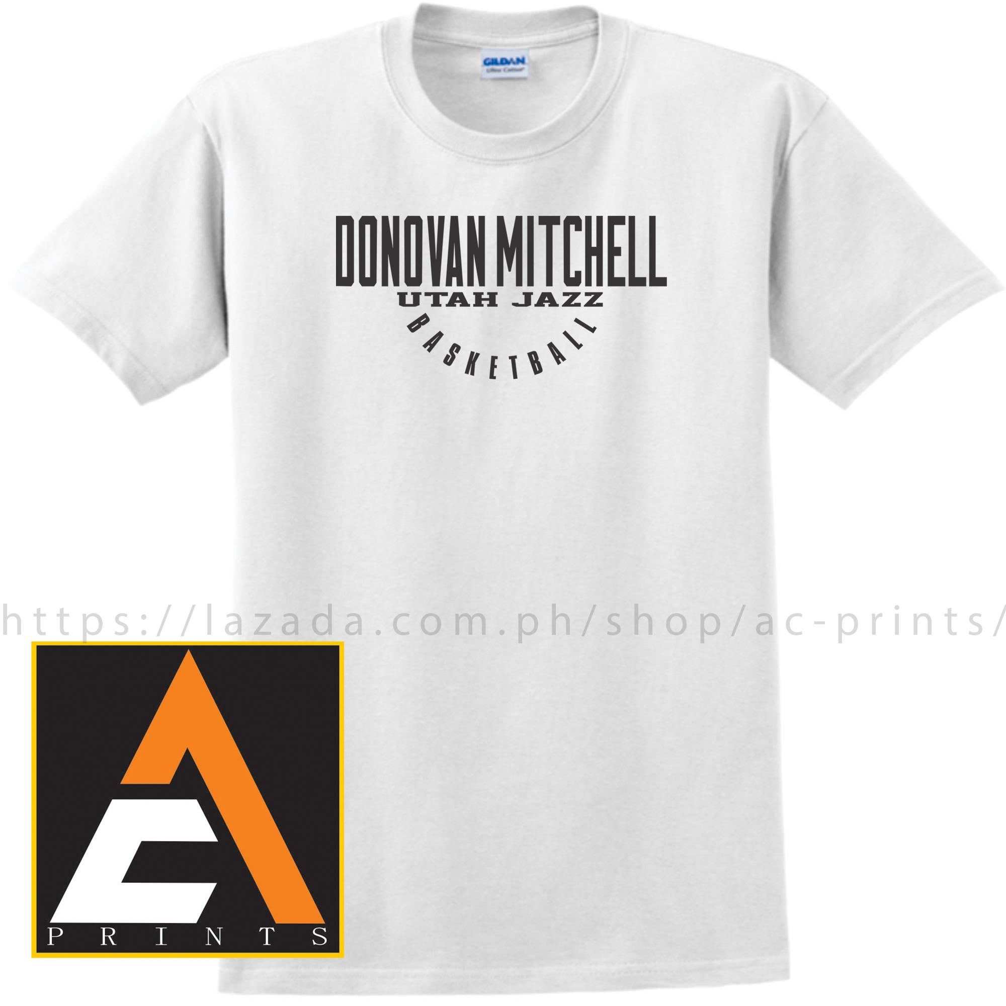 Basketball tshirt Basketball shirt UTAH JAZZ DONOVAN MITCHELL Basketball  Shirt Unisex(Men Women) 64a652968