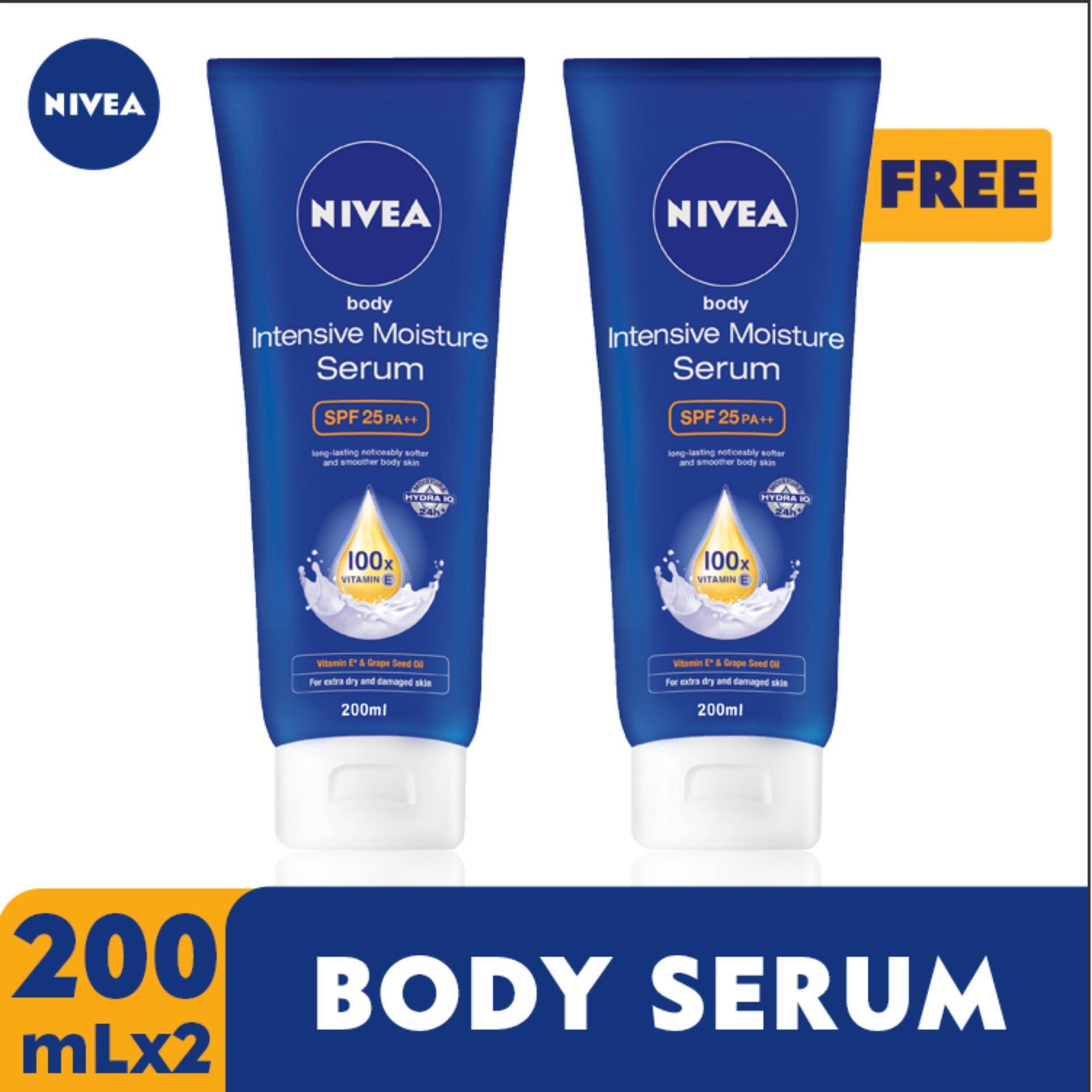 Nivea Philippines Price List Lotion Deodorant Baby Make Up Clear 2 In 1 White Foam 100ml Buy Take Body Intensive Moisture Bodyserum 200ml