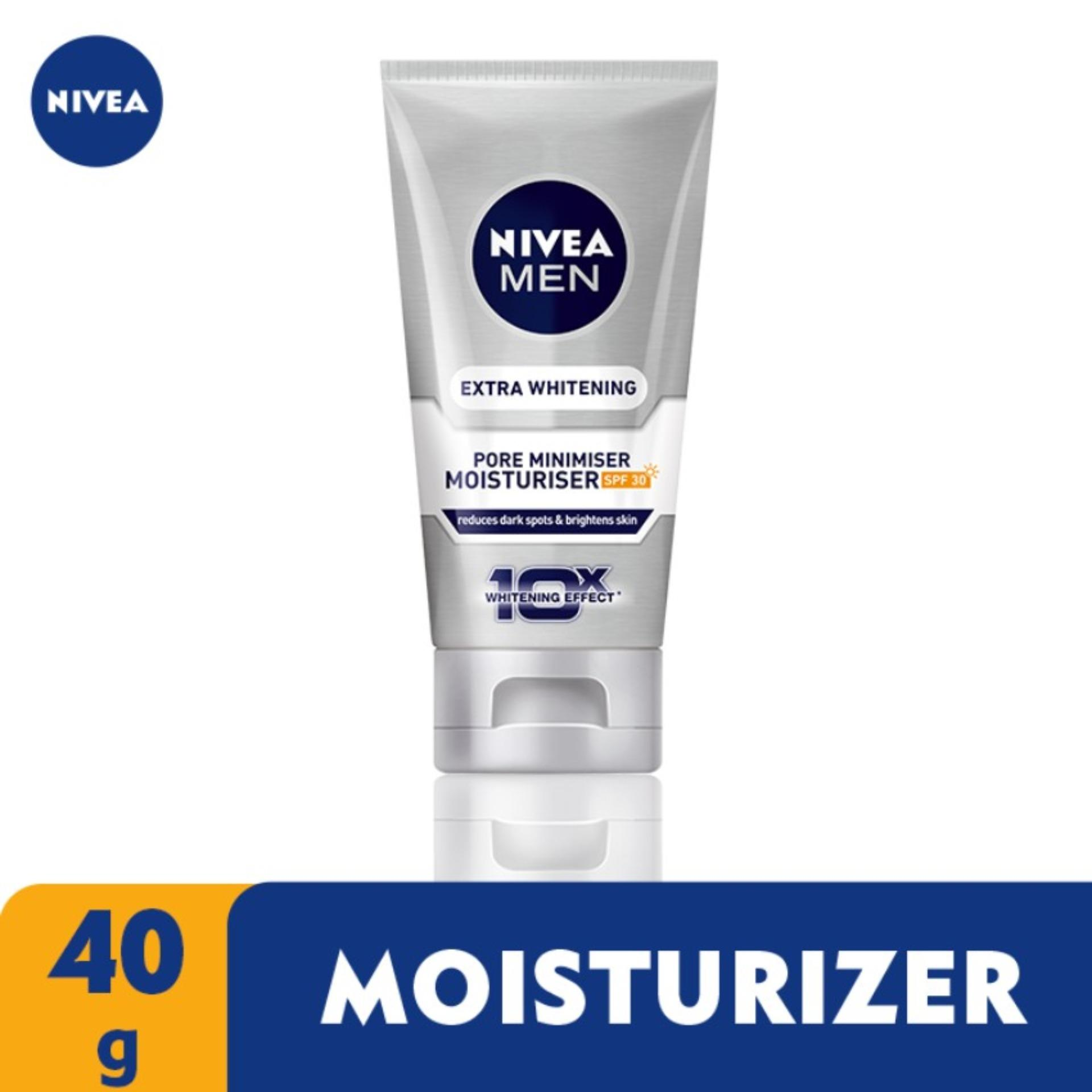 Nivea For Men Extra Whitening Pore Minimiser Moisturiser Spf30 40ml By Lazada Retail Nivea.