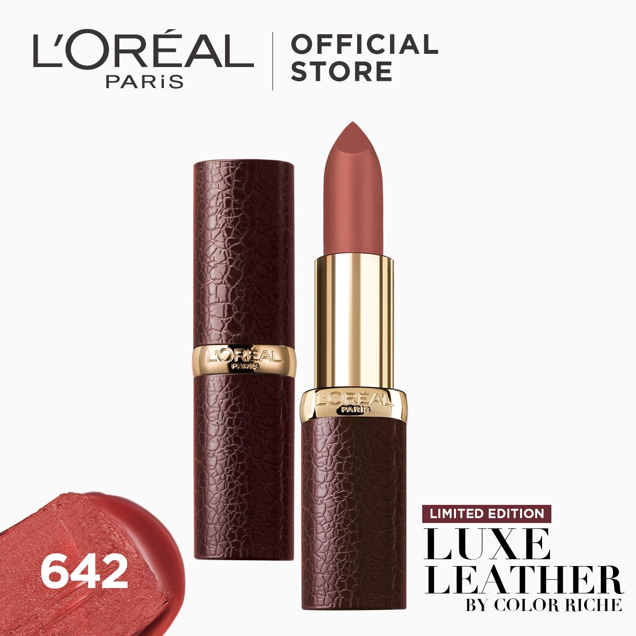 Loreal Paris Lipstick Philippines Lip Color For City Chic Liner Marsala Riche Luxe Leather By
