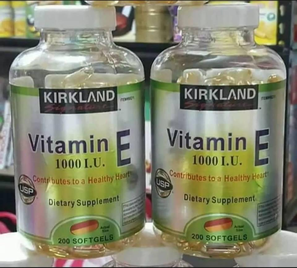 Kirkland Philippines Price List Vitamins Food Vitamin C 1000mg E 1000 Iu 200 Softgels Set Of 2 Bottles
