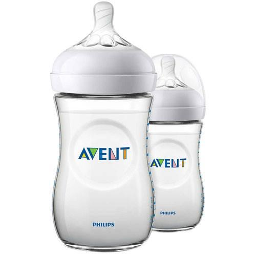 Philips Avent Natural 260ml 9oz 2pack Feeding Bottles By Mnl Enterprise.