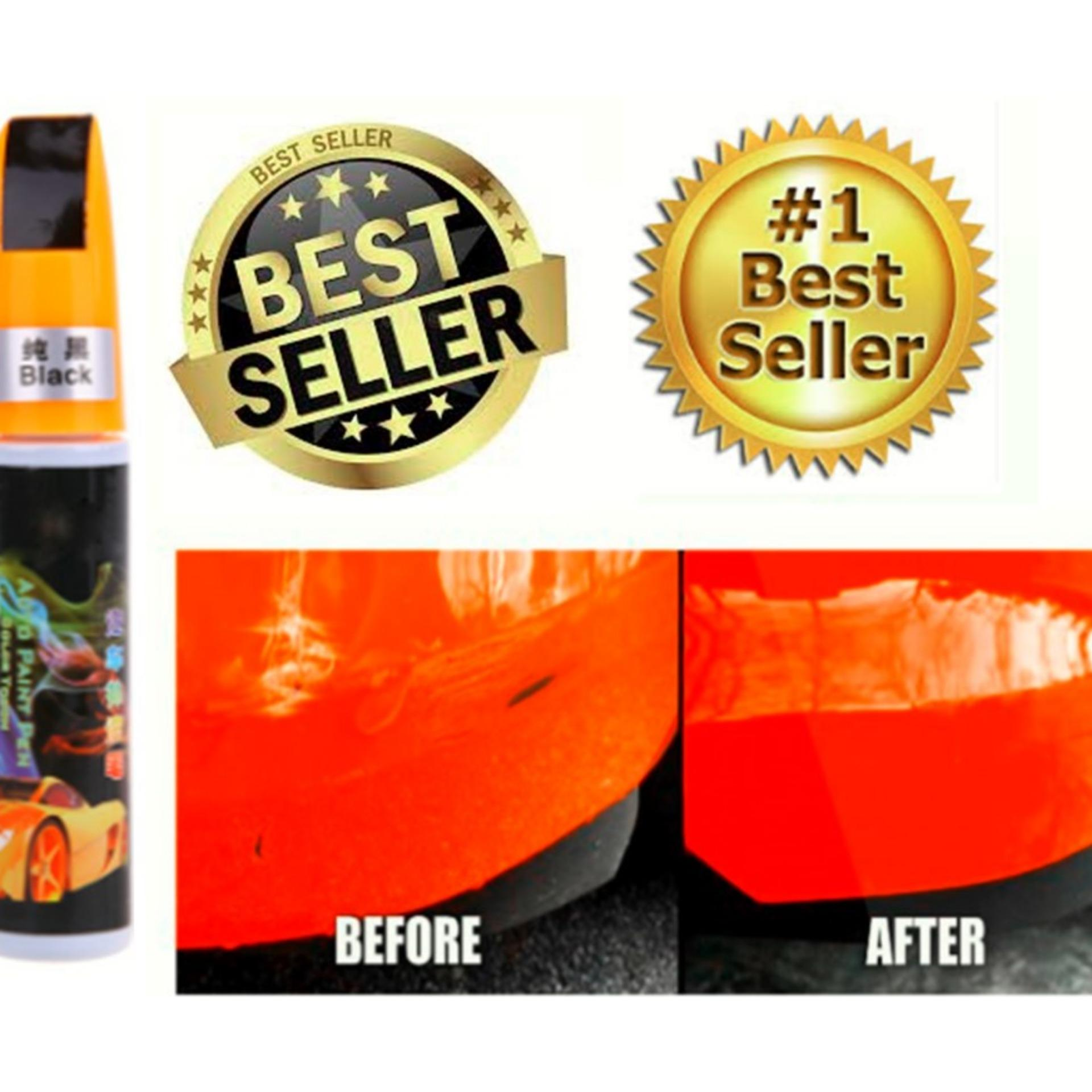 Car / Motor ( Black ) Touch Up Paint For Deep Scratches By Golden Fortune Corp..
