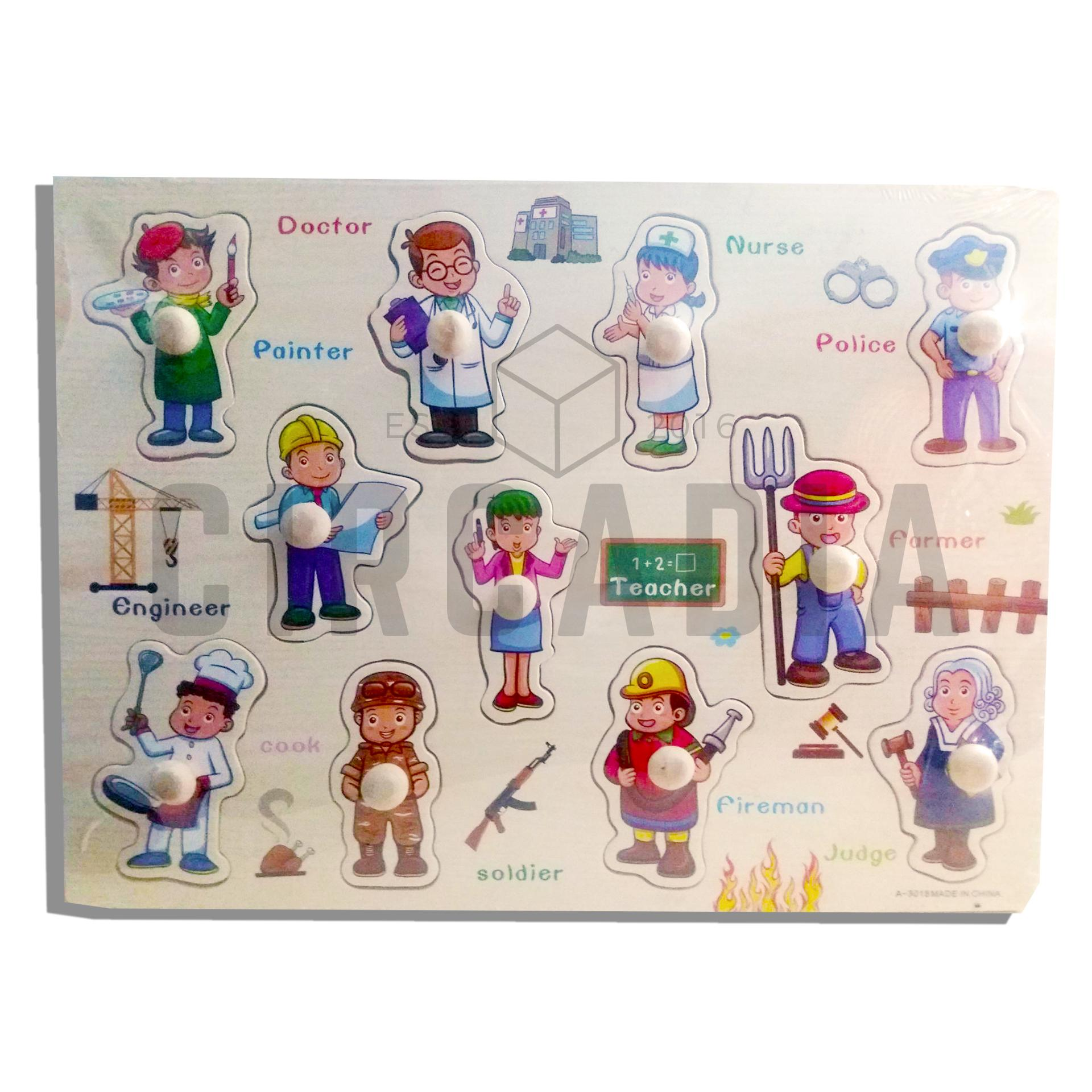 Pegged Puzzle For Sale Wooden Puzzles Online Brands Prices Knob Abc Education