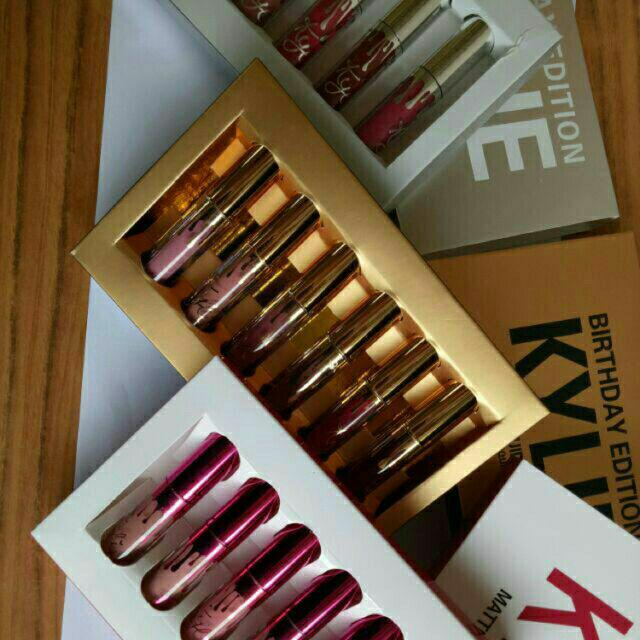 6pcs. Mini Kylie Matte Lipstick (Limited Edition) Philippines