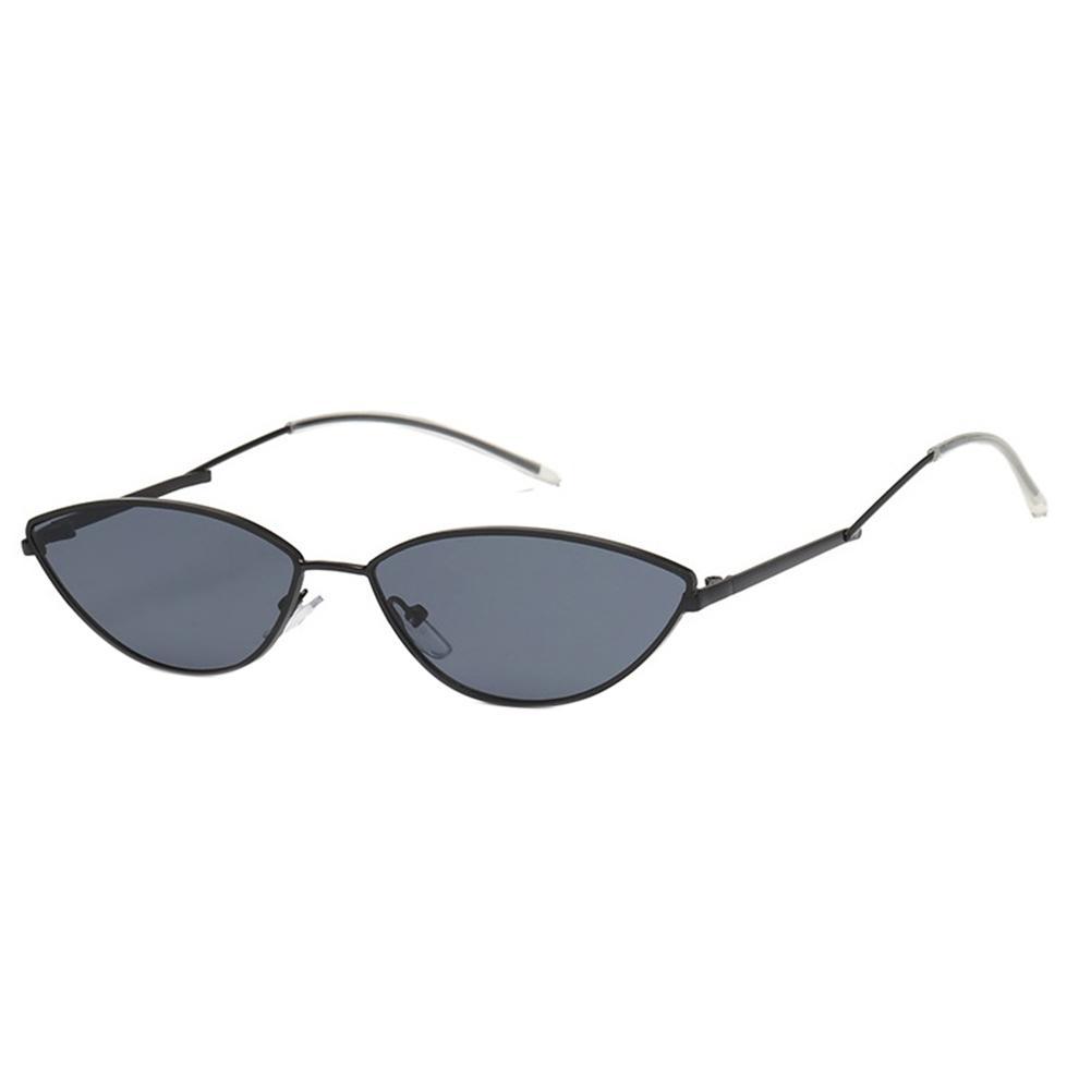 7bbafdabb691 Women Fashion Small Frame Cat Eye Sunglasses UV400 Outdoor Sports Glasses  Lenses Color Gold frame