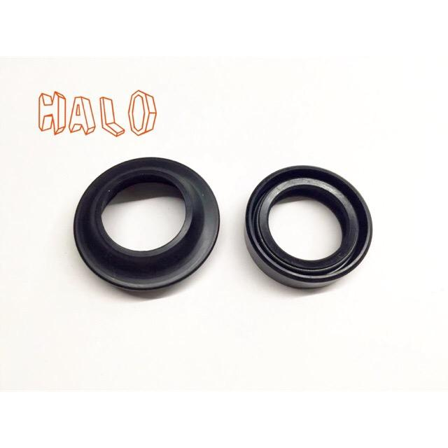 motorcycle front fork oil seal with dust seal XRM (26*37*10 5) HALO MOTORS