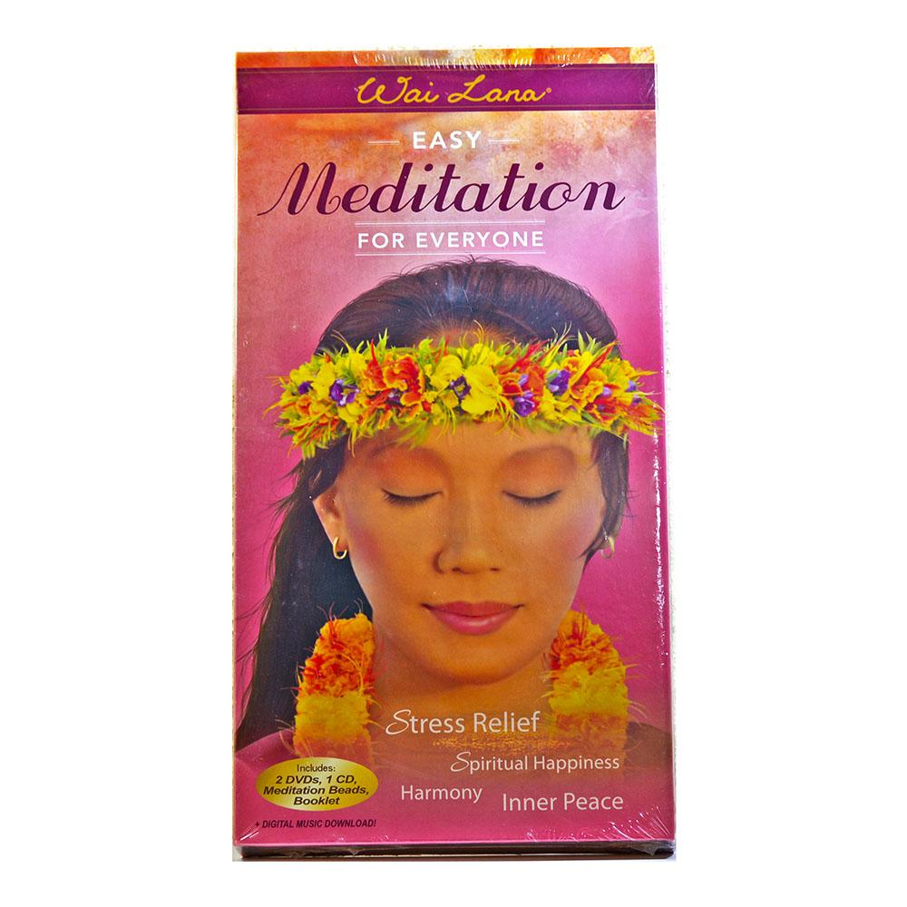 Easy Meditation For Everyone Stress Relief By Wai Lana By Radha Kunda Wellness.
