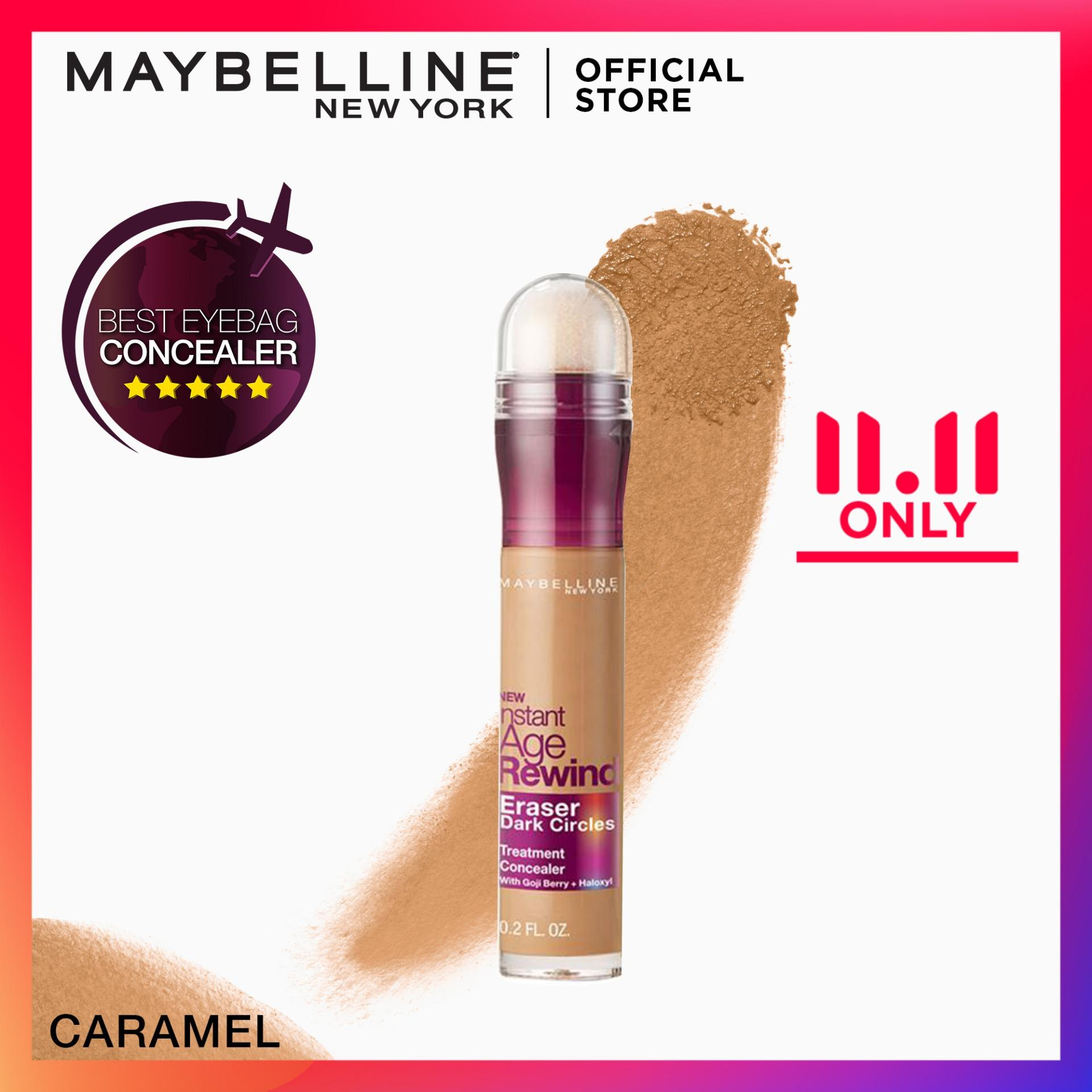 Instant Age Rewind 2-in-1 Concealer+Treatment - 144 Caramel [Global Favorite] by Maybelline Philippines