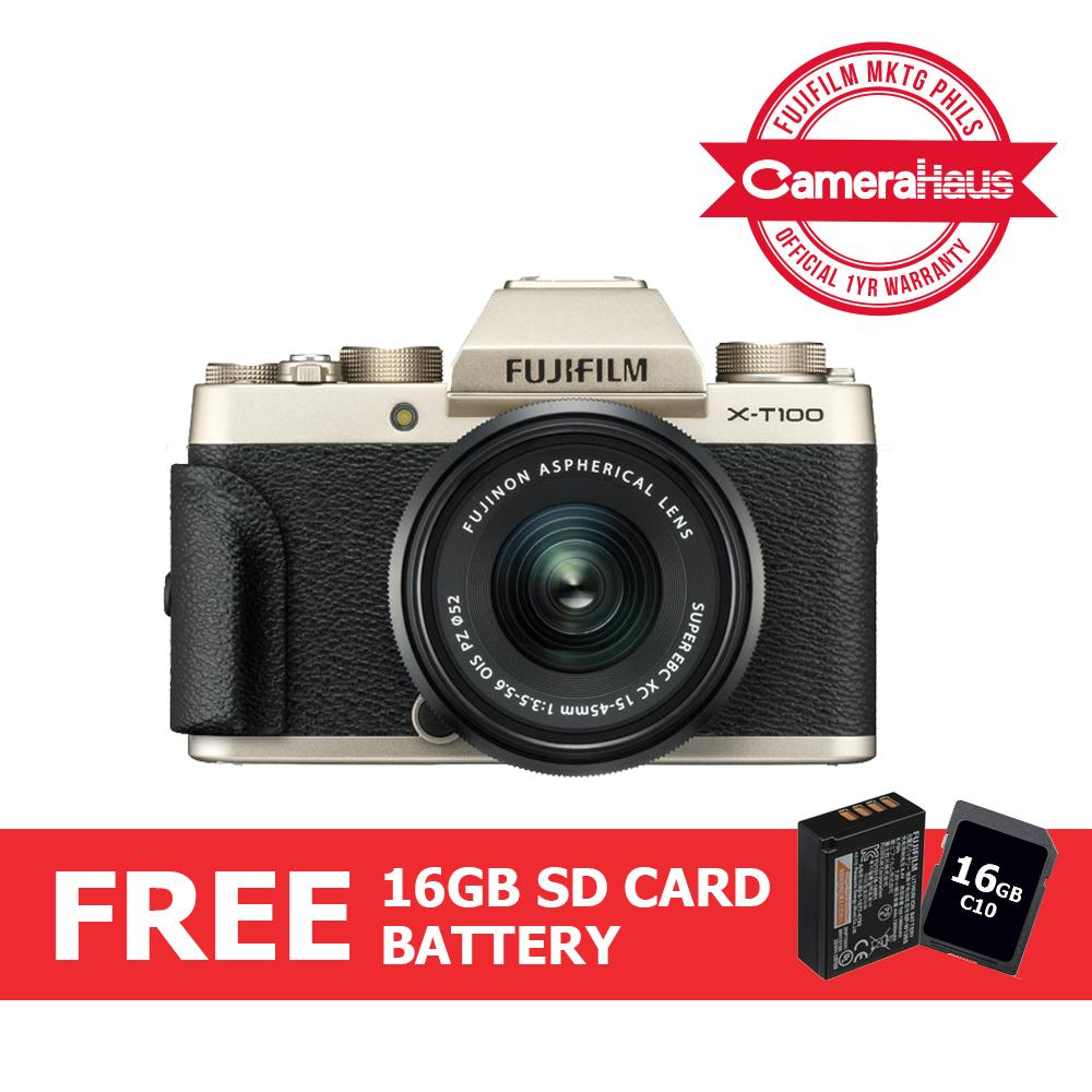 Fujifilm Cameras Philippines Instant For Sale Baterai Fuji Np W126 X A3 E1 Pro 1 T2 T20 With Packing T100 Mirrorless Digital Camera 15 45mm Lens Free 16gb Memory