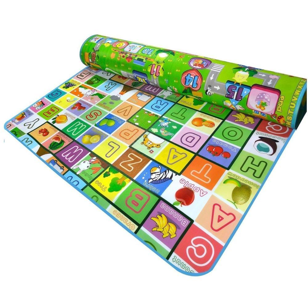 150x180 Playmat / Roll Mat Thickness 0.5 By Baby Centre By Jce.