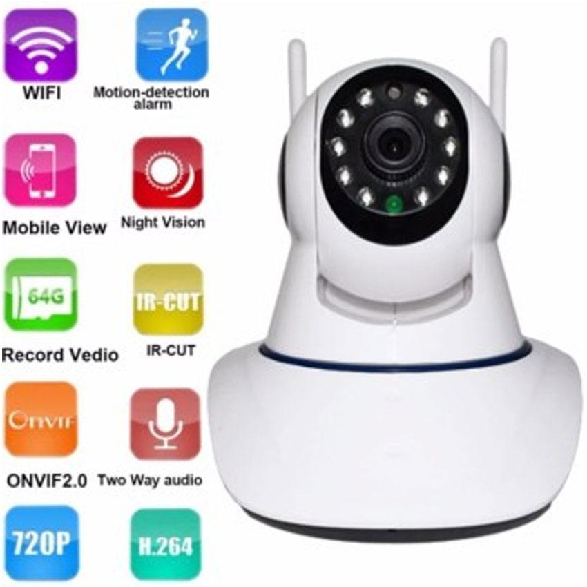 WNC-01 IP CCTV Wireless Network Camera WIFI Home Monitor Camera with  Smartphone Alerts and App Set-Up