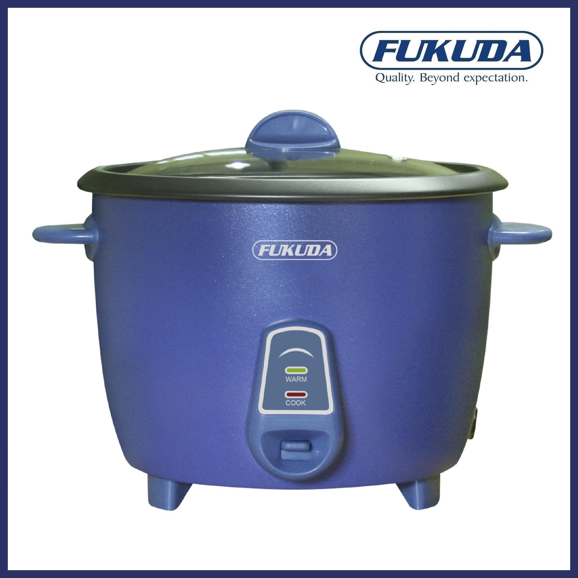 Fukuda FRC818M 10 Cup Matte Finish Drum Type Rice Cooker 1.8L (Violet)