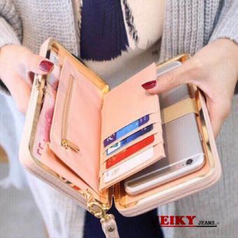 JY. Ladies Ribbon Cellphone Wallet