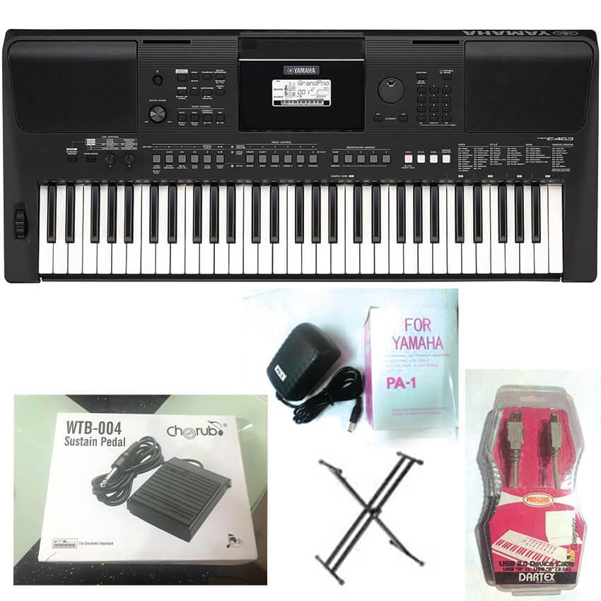 Christmas Promo- Yamaha PSR-E463 61-key Portable Keyboard 100%Authentic