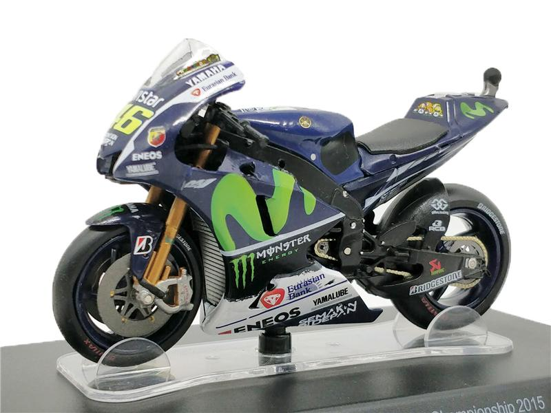 Leo 1:18 Motogp YZR-M1 #46 World Champion 2015 die-cast