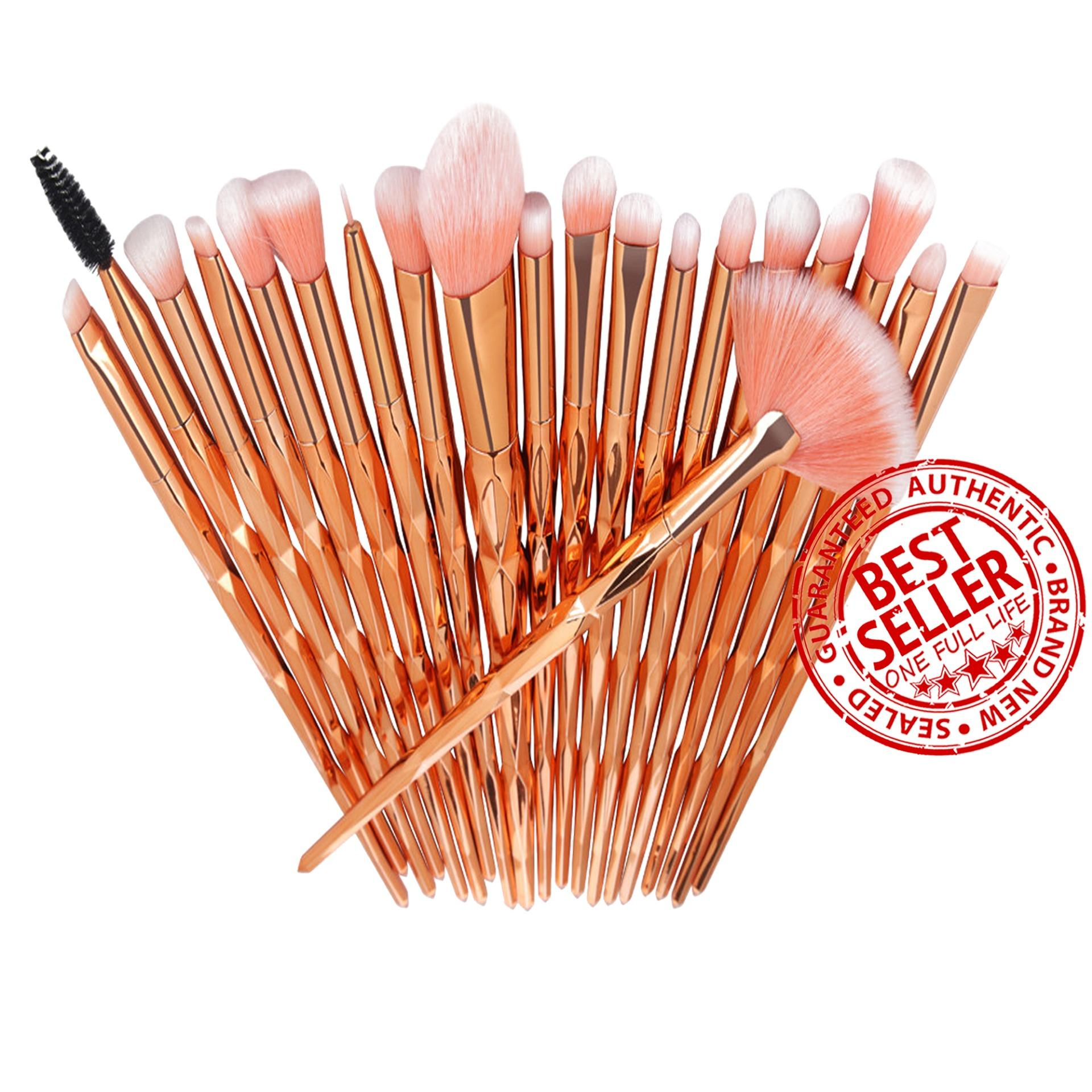 Unicorn Makeup Brush Set 20-Piece ROSE GOLD Philippines