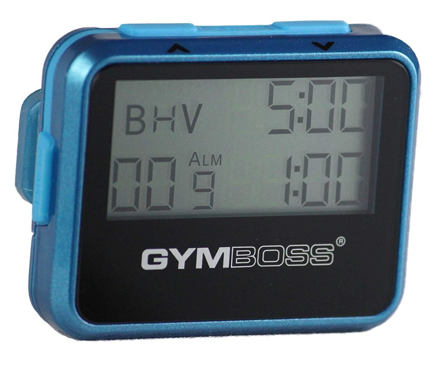 Gymboss Interval Timer And Stopwatch - Teal / Blue Metallic Gloss By Galleon.ph.