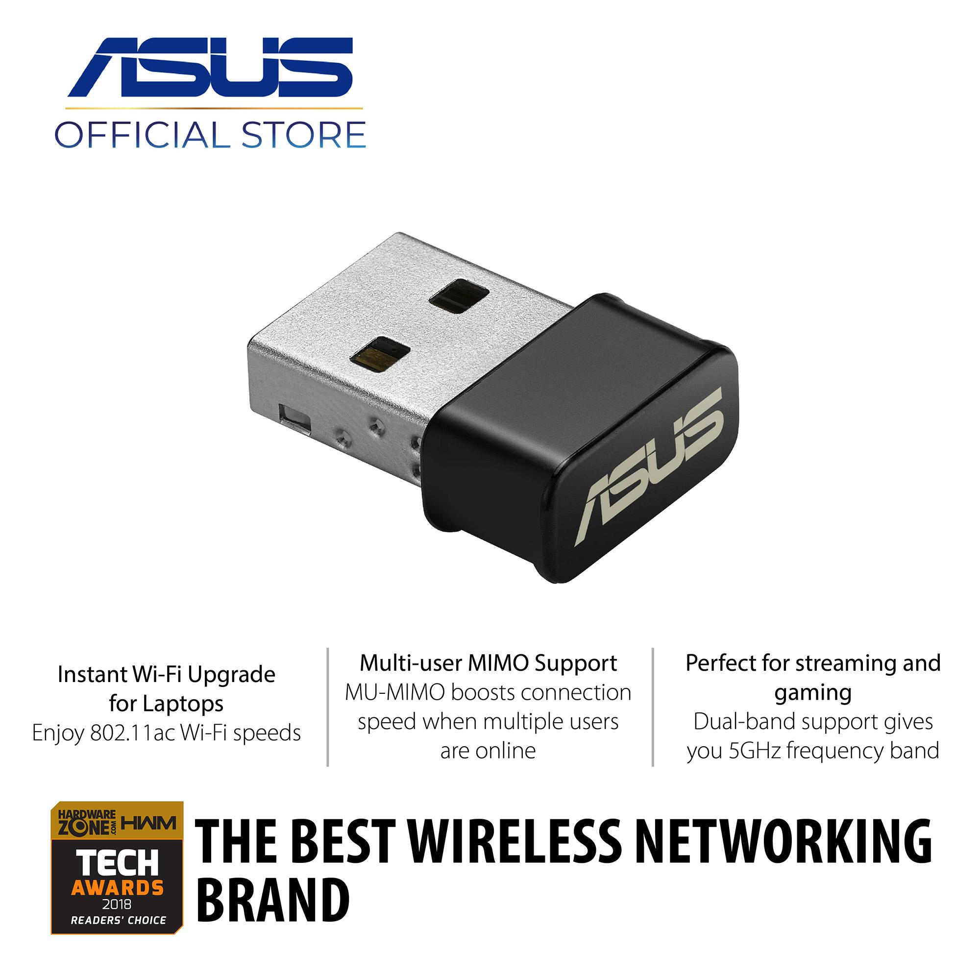 Network Adapters For Sale Internet Prices Brands Male Usb To Ps 2 Wiring Diagram Free Download Asus Ac53 Nano Ac1200 Dual Band Wi Fi Adapter