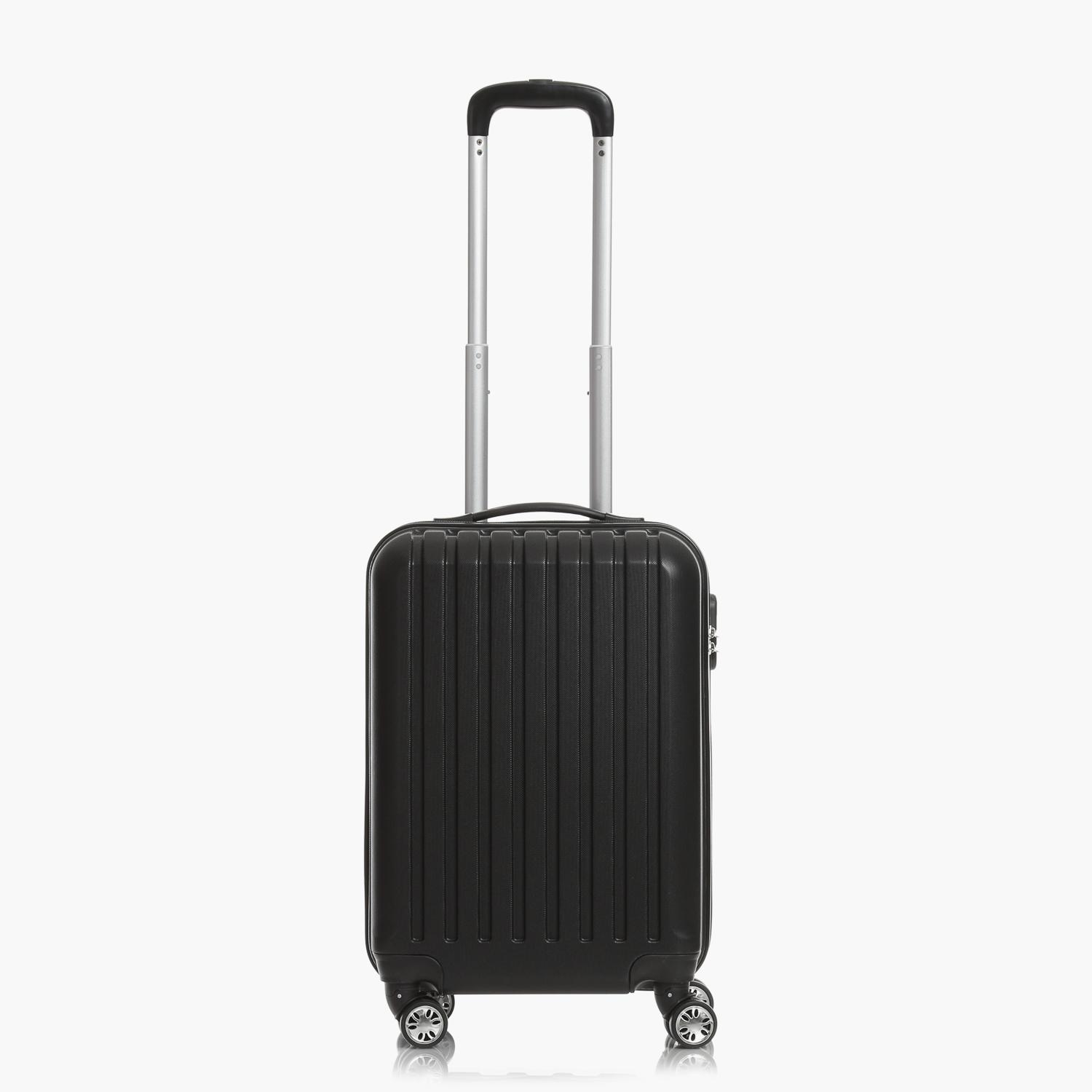 Travel Basic Ciao Clinton Hard Luggage - Small (Black)