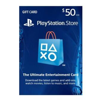 PSN 50 USD Digital Code