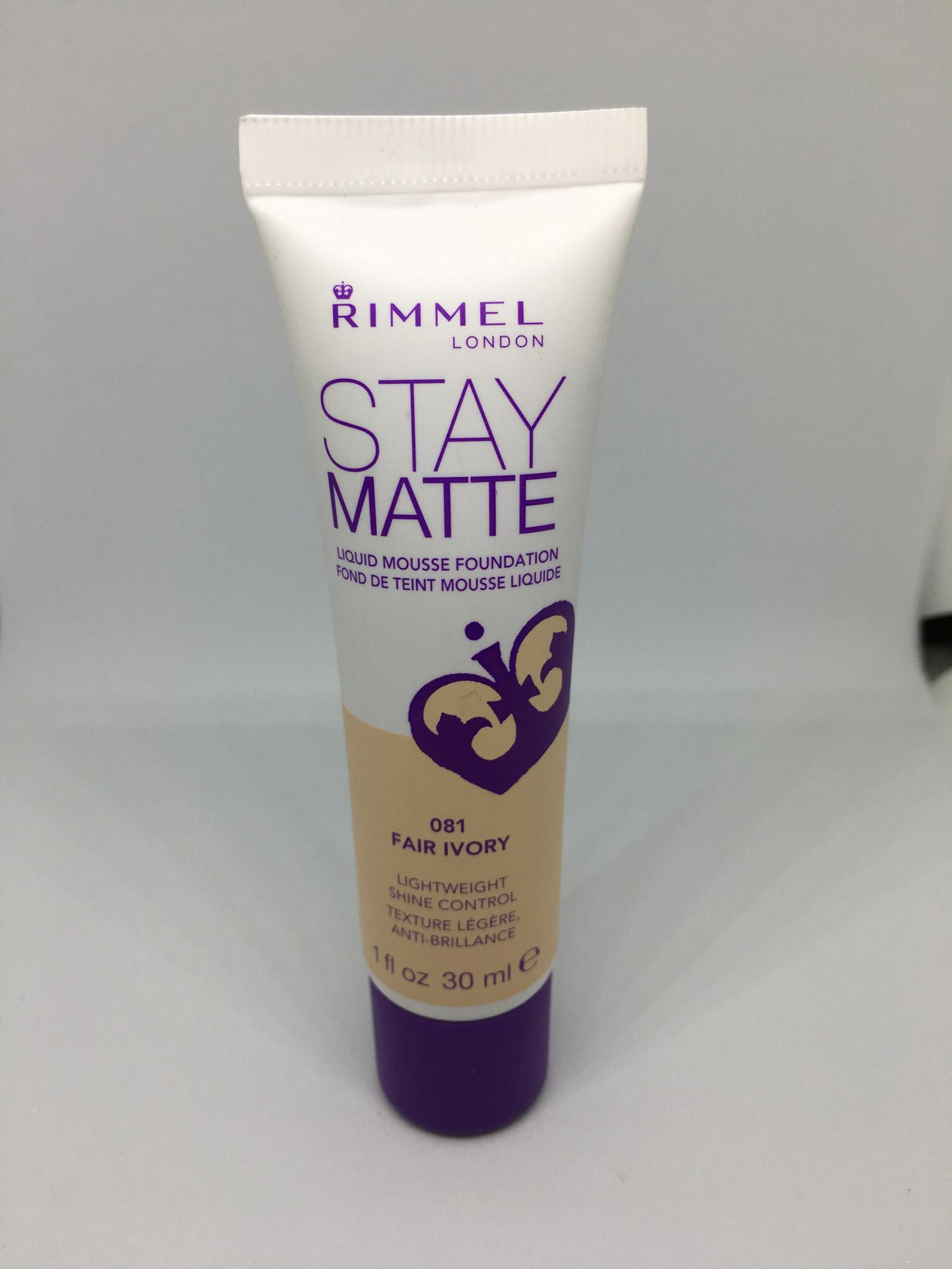 Rimmel Stay Matte Foundation (Fair Ivory)
