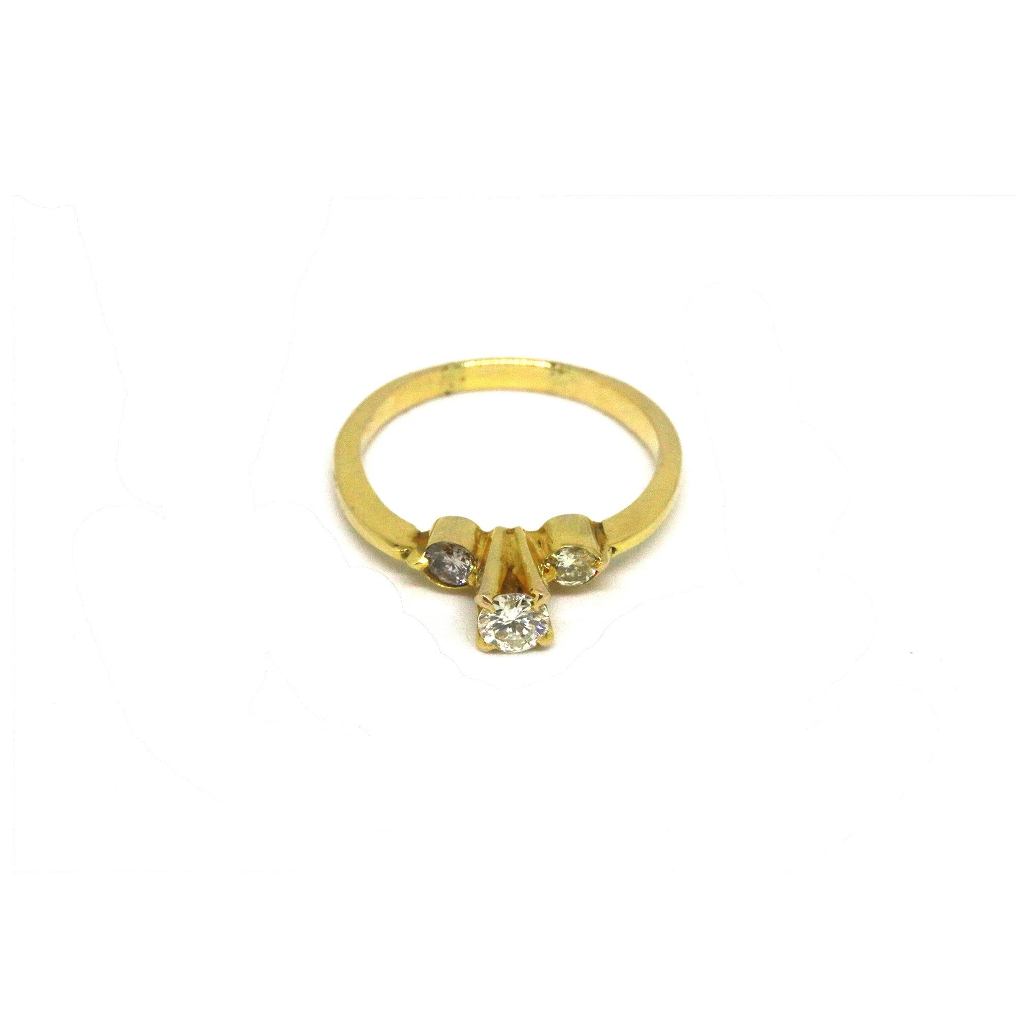 minimalist arc bliss ring sapphire lau products gold montana front