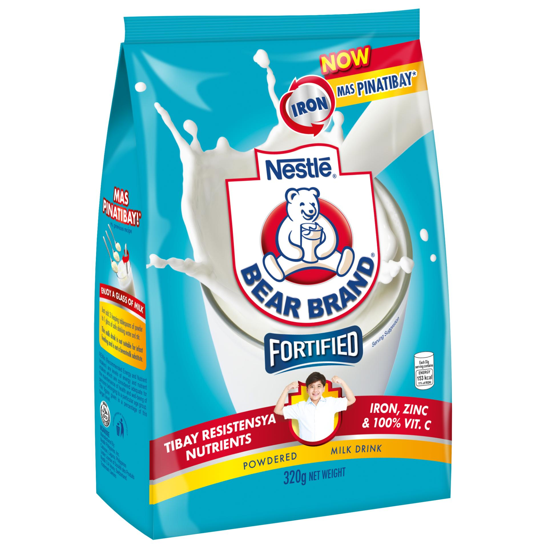 Bear Brand Powdered Milk Drink 320g By Nestle Official Store.