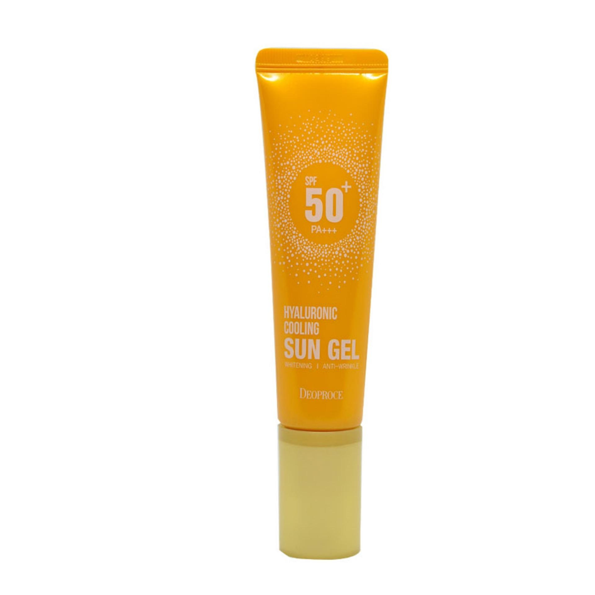 Deoproce Hyaluronic Cooling Sun Gel Spf 50+ Pa+++ By Watsons Personal Care Stores.