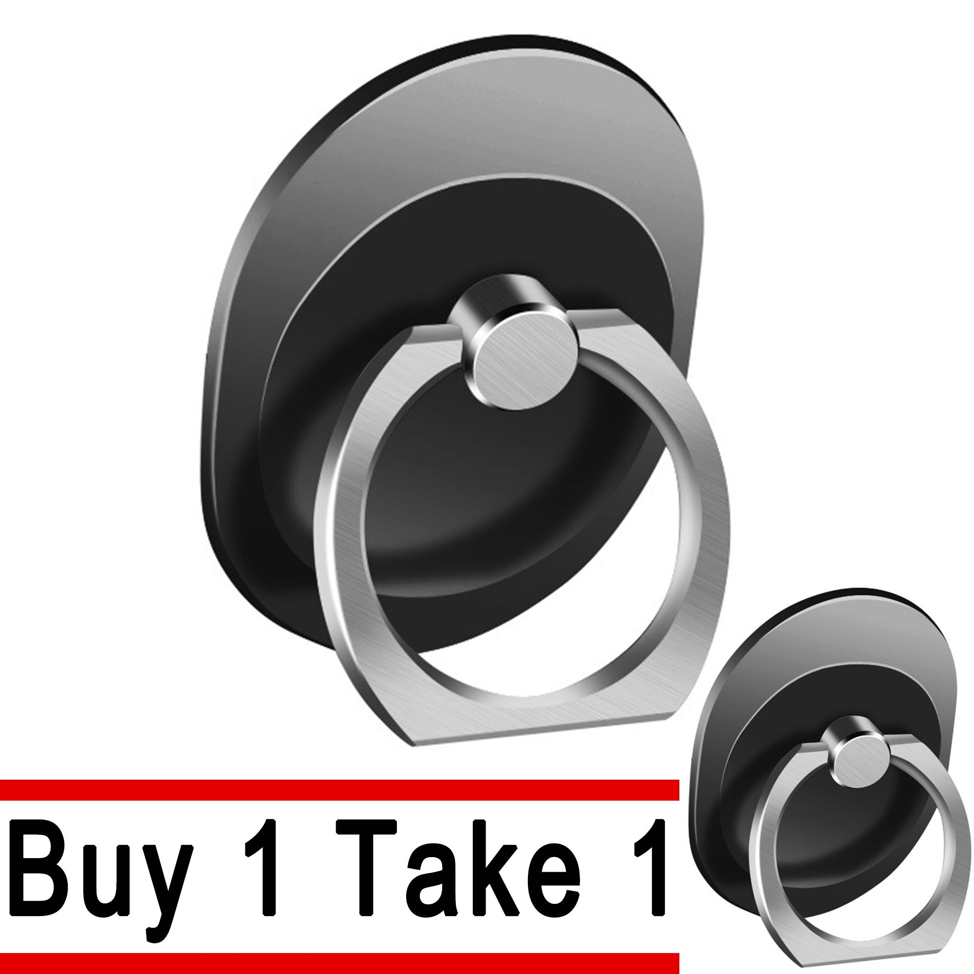 (buy 1 Take 1) 360 Degree Mobile Phone Ring Stand Holder By Lucky Charm.