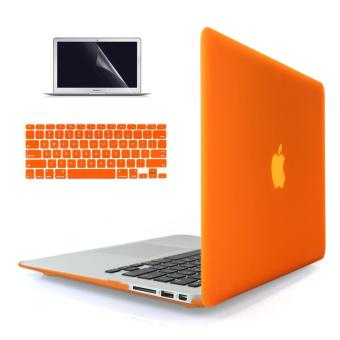 Welink 4 in 1 Soft-Touch Plastic Hard Case Cover +High Definition Anti-scratch Screen Protector+ Anti-dust Plug + Keyboard Cover for Macbook Air 13'' [ Models: A1369 / A1466 ] Release 2018/ 2017/ 2016 / 2015 / 2014 / 2013 / 2012 (NEWEST VERSION)
