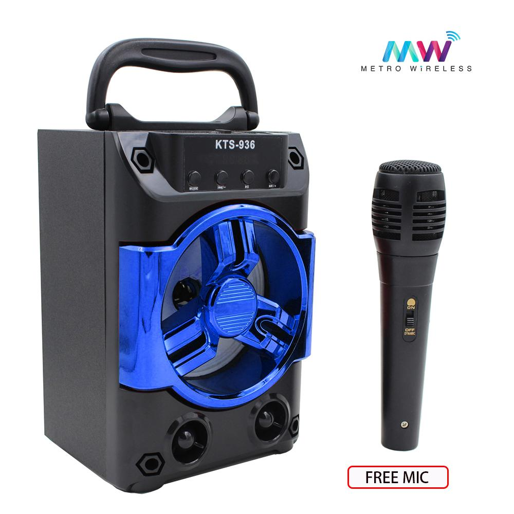 Audio Device For Sale Music Devices Prices Brands Specs Mc 44 Multi Function Microphone Schematic Wiring Diagram Karaoke Portable Wireless Bluetooth Speaker With Microphones Kts 936 Blue
