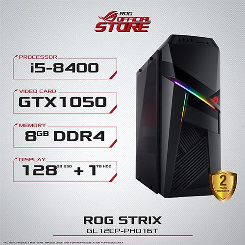 ASUS ROG Strix GL12CP-PH016T Desktop Intel® Core i5-8400 8GB DDR4 1TB 57d130369e3e