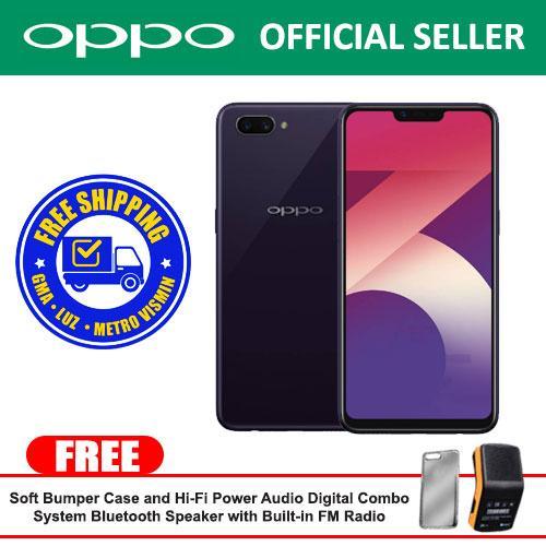 OPPO A3s Purple 6.2 inch / 2 Ram / 16 Gb Storage With Free Soft Bumper