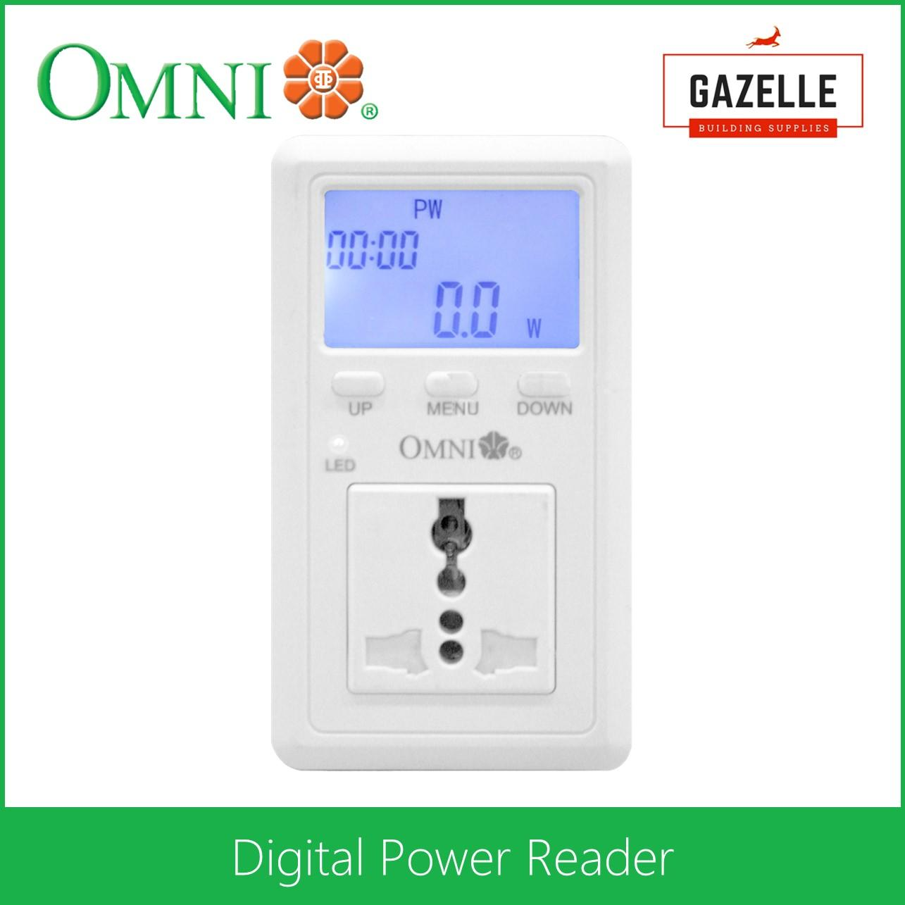 Omni Philippines Price List Light Fan Lamp Bulb Wires Wiring A Keyless Fixture Digital Power Reader Mma D02p Pk